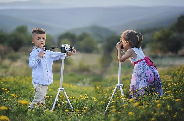 Kreativní fotografie pro děti
